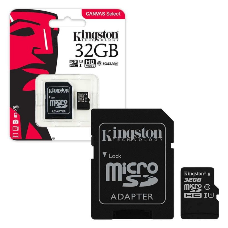 Image result for Kingston Micro SDHC 16GB Class 10 80MB/s