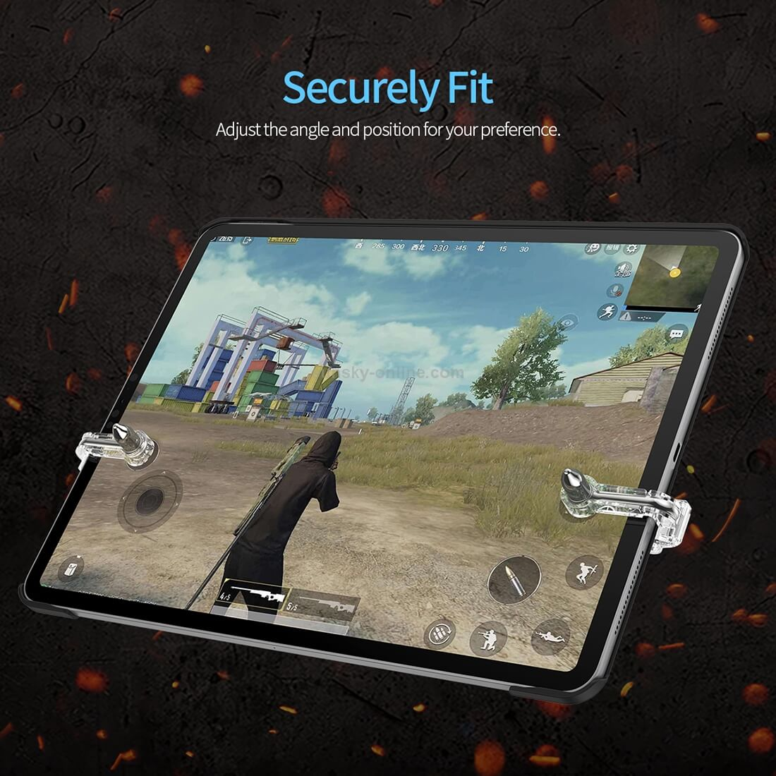 Rock ipad tablets pubg trigger game pad controller in Nepal